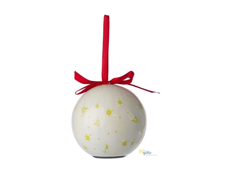 Kerstbal met Ledverlichting - onbedrukte en bedrukt relatiegeschenken