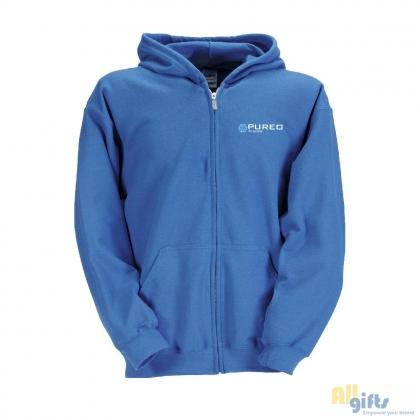 44e259af4cf Gildan Zip kinder hoodie - onbedrukte en bedrukt relatiegeschenken