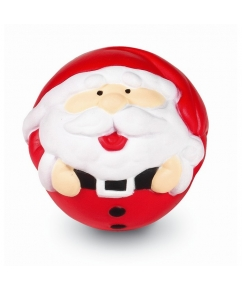 Anti-stressbal Kerstman bedrukken