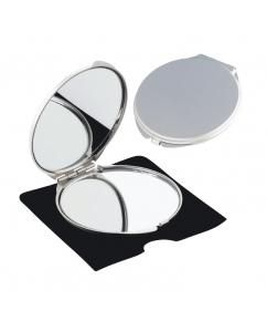 Make up en zakspiegels bedrukken maak indruk met uw opdruk - Metalen spiegel ...