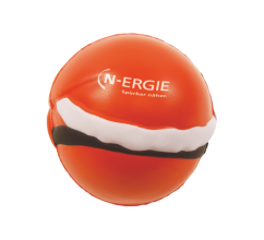 Anti-stress Kerstman bedrukken