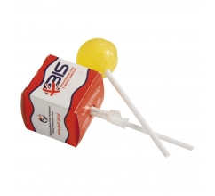 Lolly in vierkant doosje bedrukken