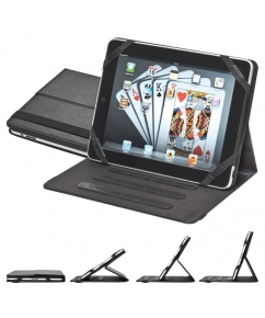 Ipadhouder van bonded leather bedrukken