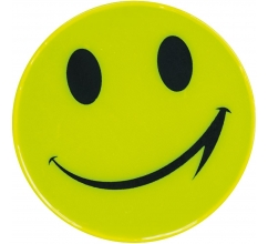 Sticker, reflecterend smile bedrukken