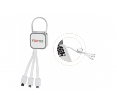 USB Connector 3 in 1 bedrukken