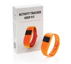 Activity tracker Keep fit bedrukken