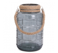 SENZA Glass Jar Large Transparant bedrukken