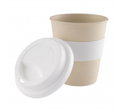 Eco Bamboo-to-Go 350 ml beker bedrukken