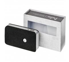 Palm Bluetooth® speaker met draadloze powerbank bedrukken
