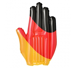 Inflatable waving hand